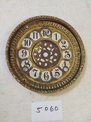Antique Gilbert Mantle Clock Dial & Bezel No Glass