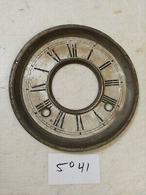 Antique Ansonia / Sessions Era Gingerbread /  Parlor Clock Dial