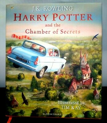 Harry Potter and the Chamber of Secrets (Illustrated Edition) A-1880-MP-W07