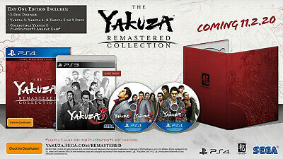 The Yakuza Remastered Collection - Day One Edi  - PlayStation 4 game - BRAND NEW