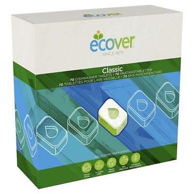 Ecover Dishwasher Tabs XL 70 Tabs (Pack of 5)
