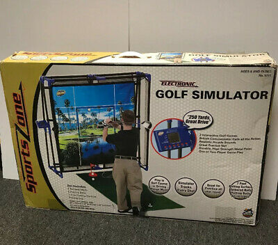 Golf Simulator Electronic Game 5791 Sports Zone