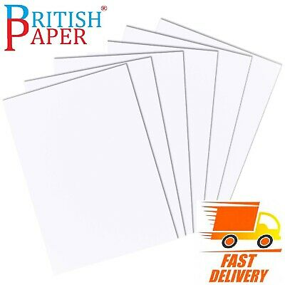 A6 A5 A4 A3 A2 WHITE CRAFT DECOUPAGE CARD MAKING STOCK PAPER PRINTER 120- 300gsm