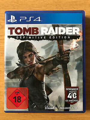 Tomb Raider -- Definitive Edition Sony PlayStation 4 PS4