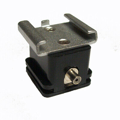 Hot Shoe Adapter with Flash Lead Socket