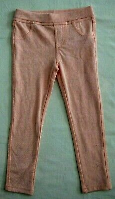 Minoti Girls Jeggings - Peach - Age 3 Years - Brand New With Tags