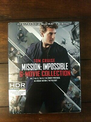 Mission: Impossible - 6 Movie Collection (4K Disc, Blu-ray)