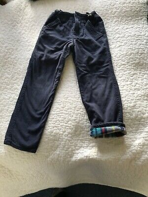 Mini Boden Boys Age 5 Navy Trousers