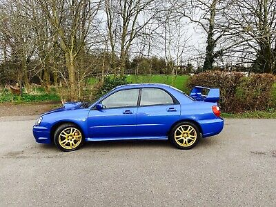 2003 Subaru Impreza 2.0 WRX STI Type UK 4dr with full Subaru service history