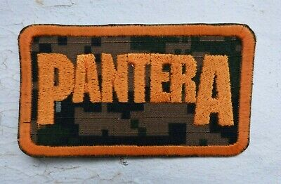 Pantera embroidered patch, digital camo,Vulgar Display,Cowboys from Hell Slayer