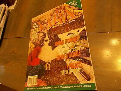 softcover book Hooking with yarn judy taylor rug hooking patterns instruction