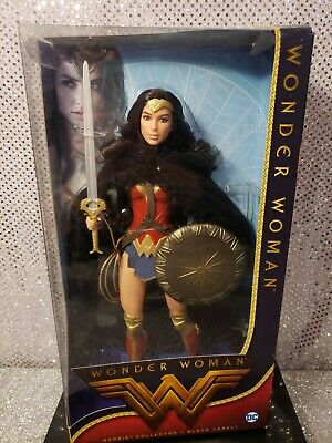 Wonder Woman Barbie Doll Amazon Princess 2016 Black Label Mattel Dwd82 Mint Nrfb