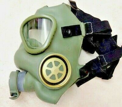 Serbian MC1 Gas Mask (NO FILTER) EMERGENCY Authentic Military NEW /old stock