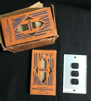 Antique Mirror Harring switch plates 10 in packages.