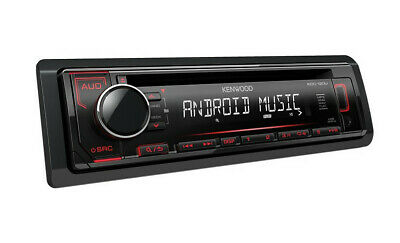 Autoradio Kenwood Radio KDC120UR USB CD - BRAND NEW