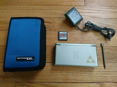 Nintendo DS Lite Legend of Zelda: Phantom Hourglass Edition - Console and Game!