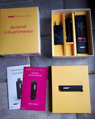NOW TV Smart Stick con accessori originali
