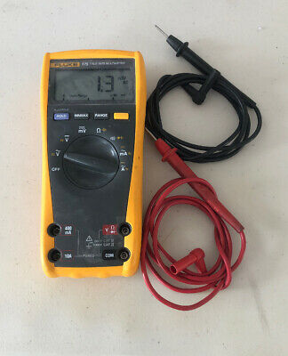 Fluke 175 True RMS Multimeter - Leads Included