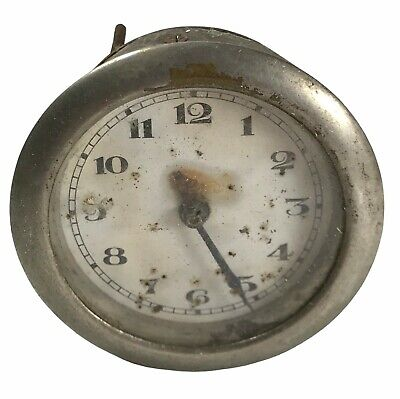 Antique Vintage Clock Movement & Face . 6 Cm <Hm07 (T26)