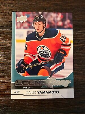2017-18 Upper Deck Series 1 Kailer Yamamoto Young Guns Oilers