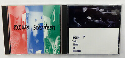 Excuse 17 2 CD lot S/T + Such Friends Are Dangerous Sleater Kinney riot grrril