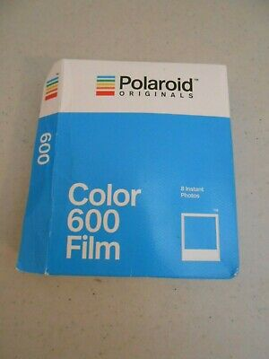 Sealed Vintage Polaroid Type 600 Instant Color Film New Old Stock 8 Prints Nos