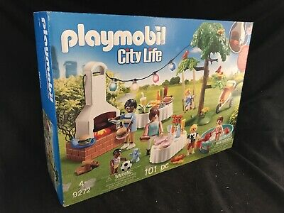 Playmobil #9272 Housewarming Party New Factory Sealed