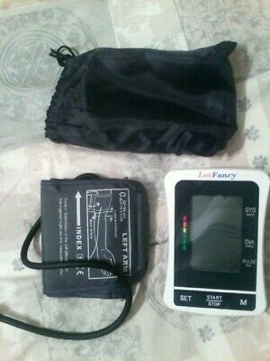 Best Portable Blood Pressure Monitor Digital LCD With Upper Arm Cuff
