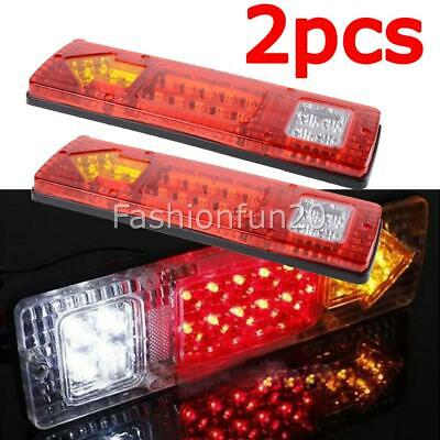 LED TRAILER TAIL LIGHTS TRUCK CARAVAN UTE BOAT LIGHT STOP INDICATOR Waterproof W