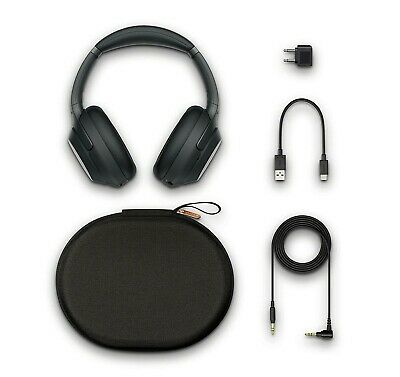 NEW GENUINE Sony WH1000XM3B Premium Noise Cancelling Wireless Headphones Black