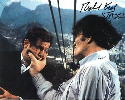 Richard Kiel (James Bond - The Spy Who Loved Me), Hand Signed 10 X 8 Photo.