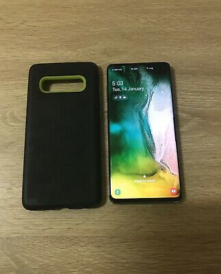 Samsung Galaxy S10 + plus SM-G975F - 128GB - Prism Black EXCELLENT CONDITION