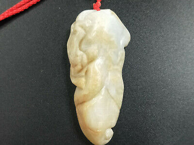 100% China Delicate Hand Carved Myanmar Emerald jewelry yellow corn Pendant