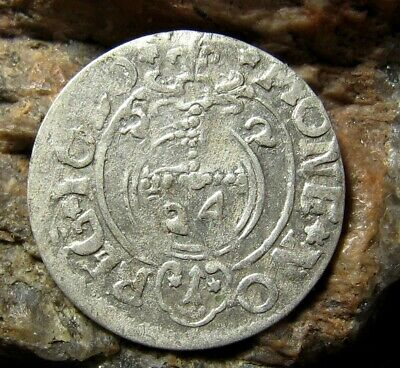 Ancient European Silver Coin Middle Ages