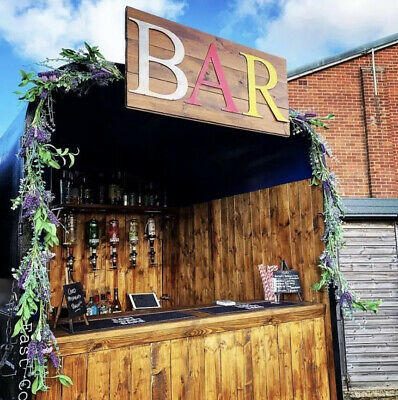Bar In Rustic Distressed Metal Letters Home House Sign Lettering Cocktail Drinks
