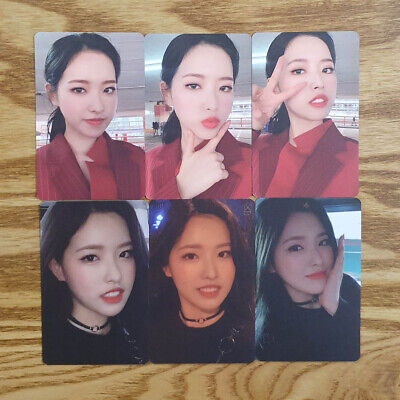Olivia Hye Photocard Set 6 pcs Loona Official MD Hash # Showcase Genuine Kpop