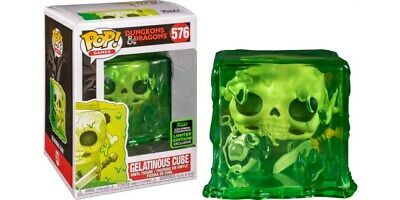2020 Funko Pop ECCC Dungeons And Dragons Gelatinous Cube Preorder + Protector