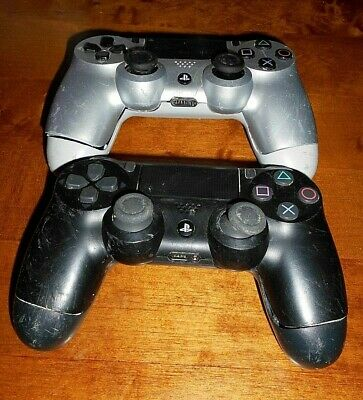 Sony Playstation Ps4 Wireless Controllers X2 Faulty Spares Parts Only