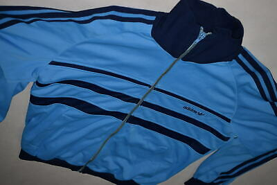 Adidas Trainings Jacke Sport Jacket Track Top Casual Style 80s Vintage Cupro  S