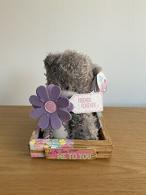 """Me To You Tatty Teddy Boxed Plush Bear  """"FRIENDS FOREVER"""""""