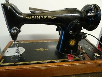 Vintage Singer 201k Electric Semi-Pro Sewing Machine – 1950