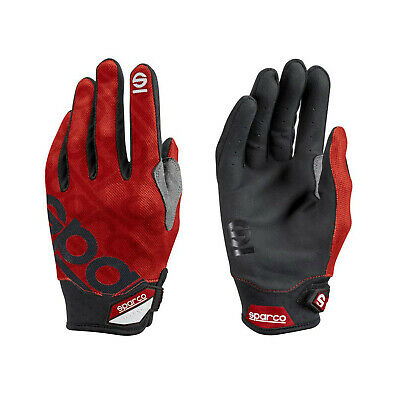 Sparco Mechanic Gloves MECA-3 red size 9 NEW