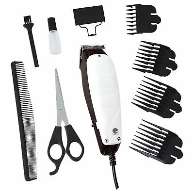 New 10Pc Professional Pet Dog Clippers Grooming Kit Animal Hair Trimmer Clipper
