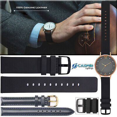 Genuine Leather Watch Strap Replacement Wrist Band For Samsung Galaxy S3 22mm