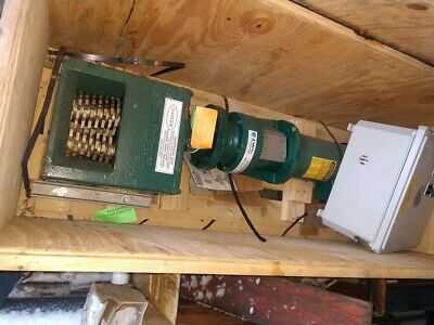 JWC Mini Monster Sewage Grinder, 20002 w/Controller - Unused Surplus (2012)