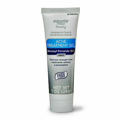 Equate Beauty 10 Benzoyl Peroxide Acne Treatment Gel Maximum