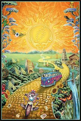 Golden Road Poster 24-by-36 Inches