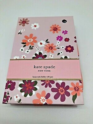 Loose note holder with pen Pacific Petals, kate spade