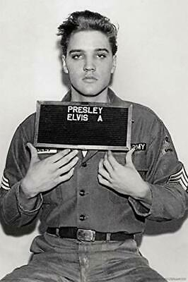 Elvis Presley-Enlistment Photo Poster Rolled 24 x 36