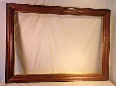 Extra large  antique WALNUT victorian frame 32 1/2 x 44 3/4  holds 28x40